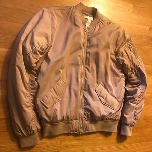 Puffer Jacket (Beige) | Size 4